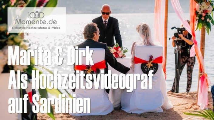 Als Hochzeitsvideograf auf Sardinien