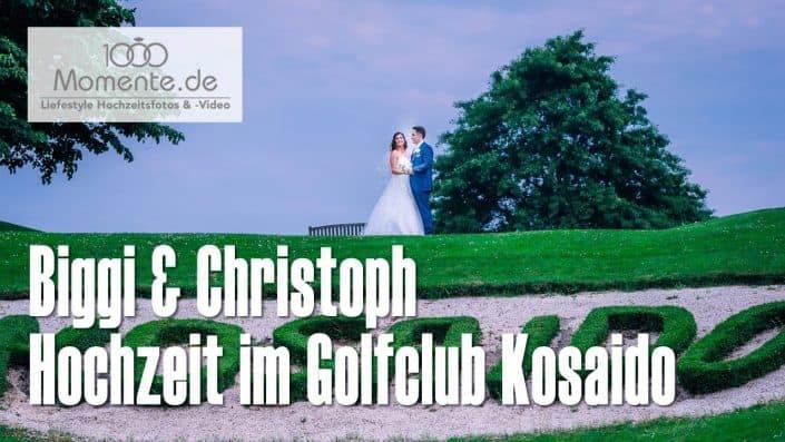Hochzeit im Golfclub Kosaido in Düsseldorf