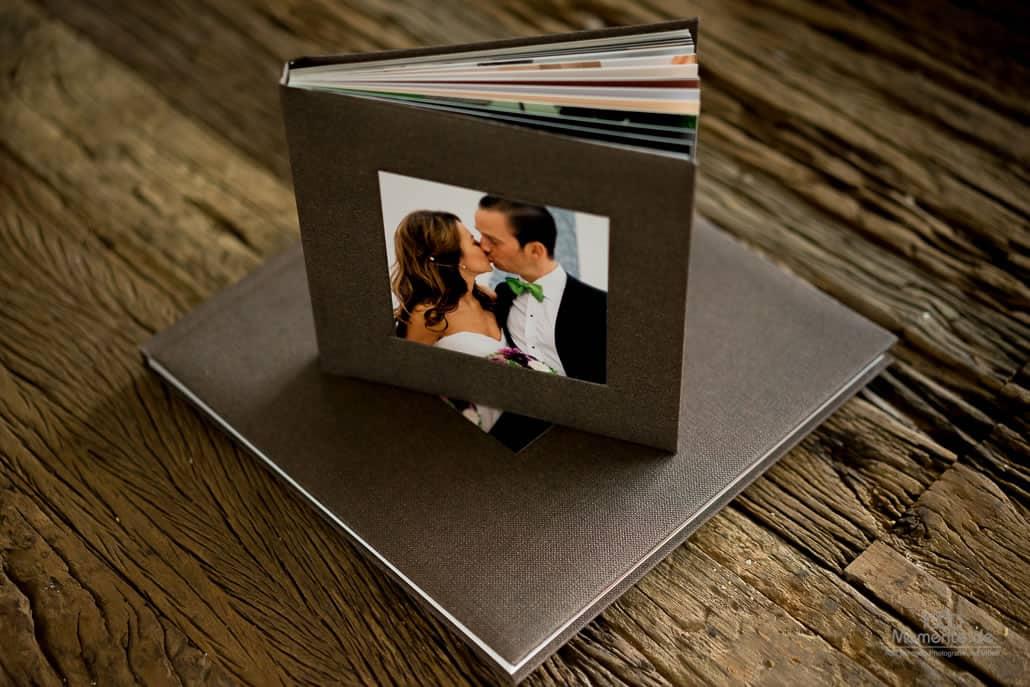 Unser handgefertigtes Hochzeitsbuch