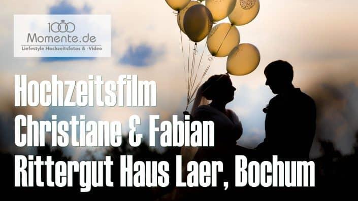 Hochzeitsfilm Rittergut Haus Laer Bochum