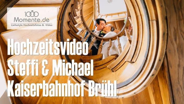 Hochzeitsvideo Kaiserbahnhof Brühl