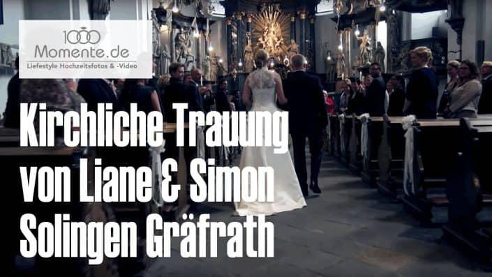 Kirchlichen Trauung Solingen-Gräfrath