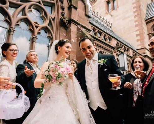 Hochzeitsreportage Schloss Drachenburg
