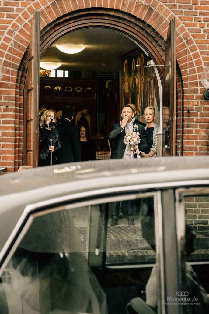 Griechisch-italienische Hochzeit in Düsseldorf und Kamp-Lint