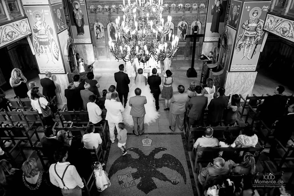 griechisch orthodoxe hochzeit in Düsseldorf