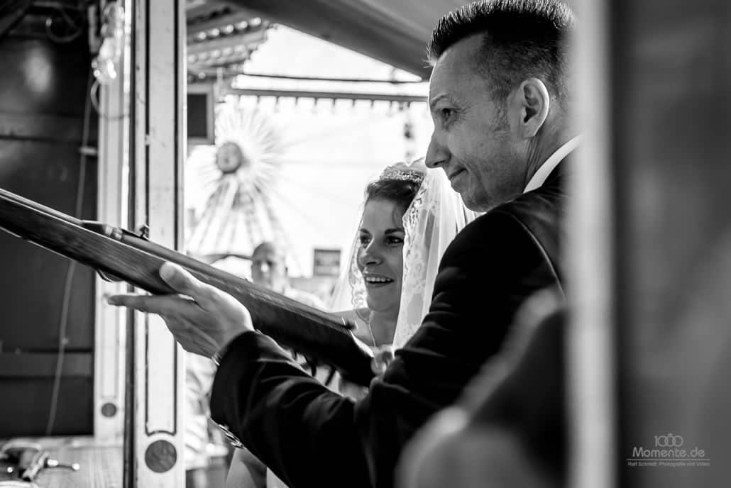 After-Wedding-Shooting Düsseldorfer Rheinkirmes