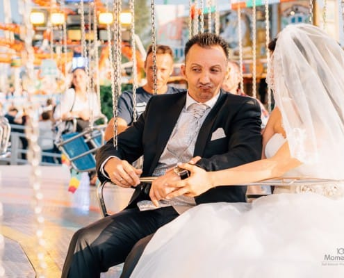 After-Wedding-Shooting Düsseldorfer Rheinkirmes