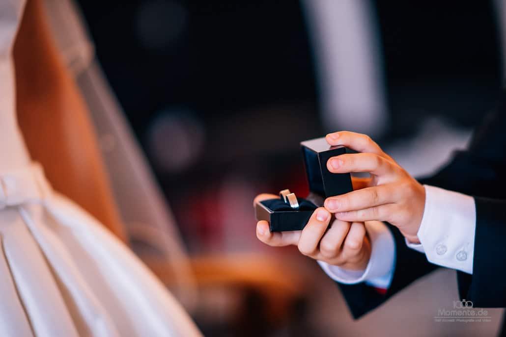 Der richtige Augenblick bei einer Hochzeitsreportage