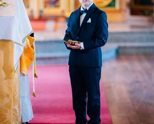 Russisch-Orthodoxe Trauung