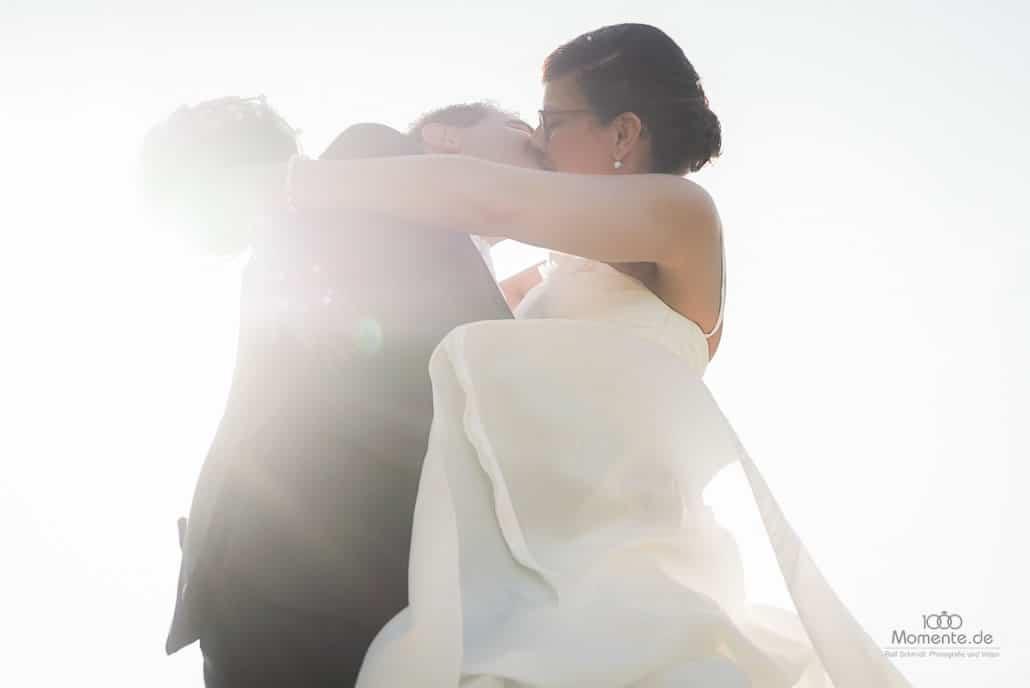 Heiratsantrag der zweite Kuss