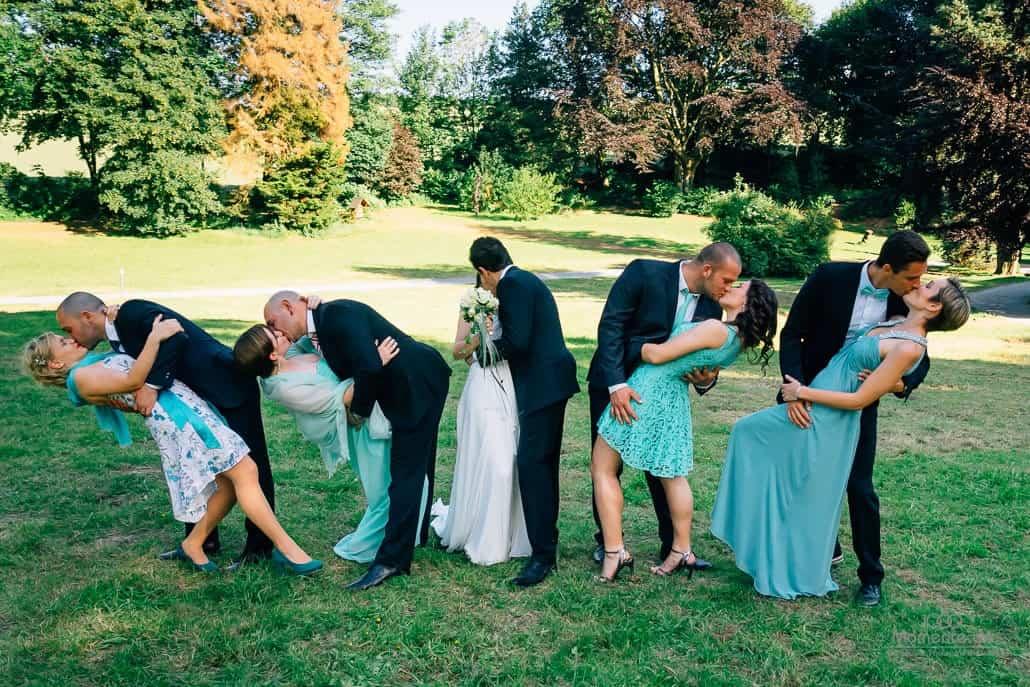 Hochzeitsfotograf Bonn Gruppenfotos