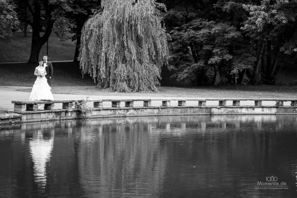 Hochzeitsfotograf Dortmund im Park