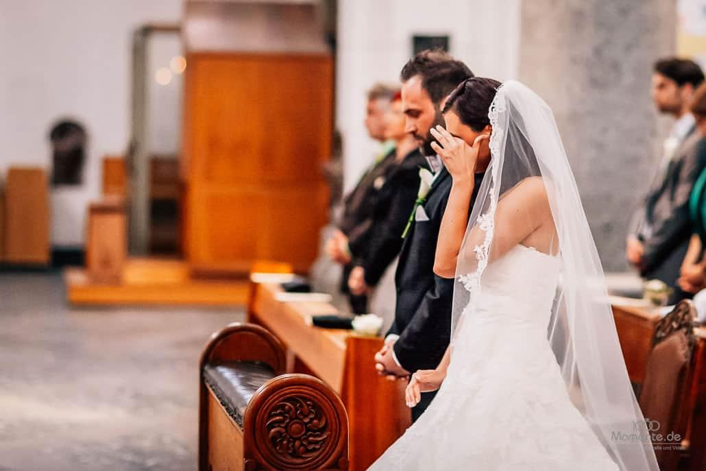Hochzeitsfotograf Köln Trauung und viele Tränen