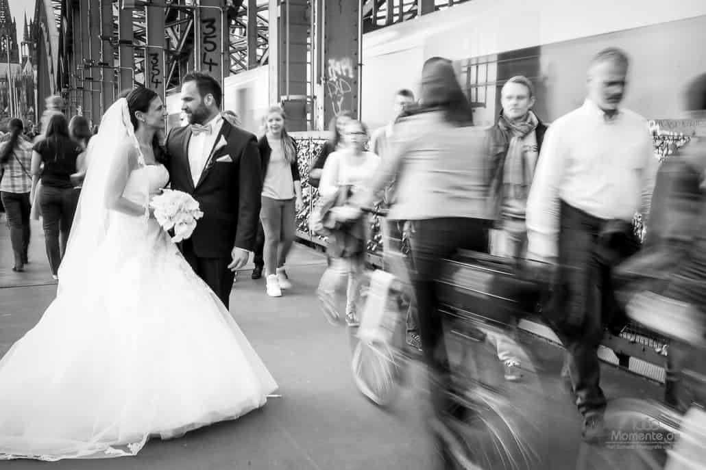 Hochzeitsfotograf Köln Deutzer Brücke