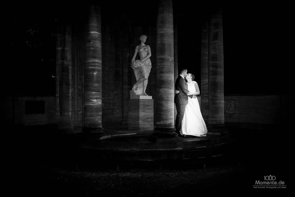 Hochzeitsfotograf Leverkusen und ein romantsicher Kuss