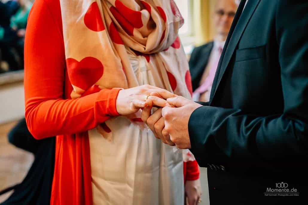Hochzeitsfotograf Leverkusen Ringtausch