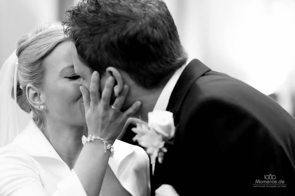 Hochzeitsfotograf Neuss bei der Trauung