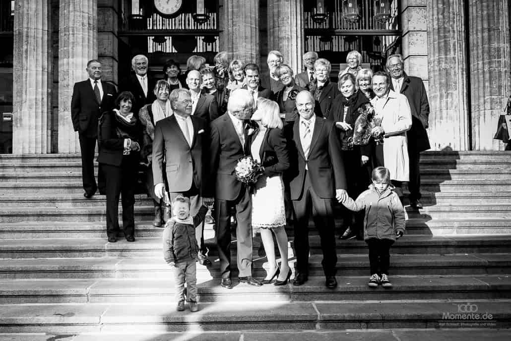 Hochzeitsfotograf Wuppertal Gruppenfoto