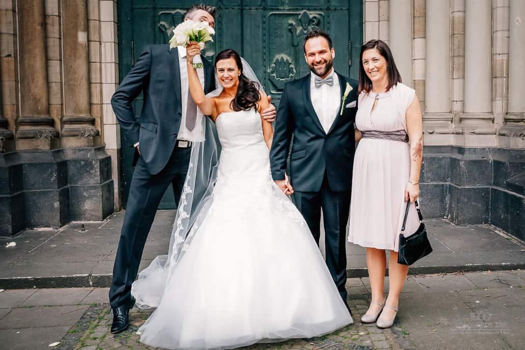 Hochzeitsfotos Tipps das Gruppenfoto