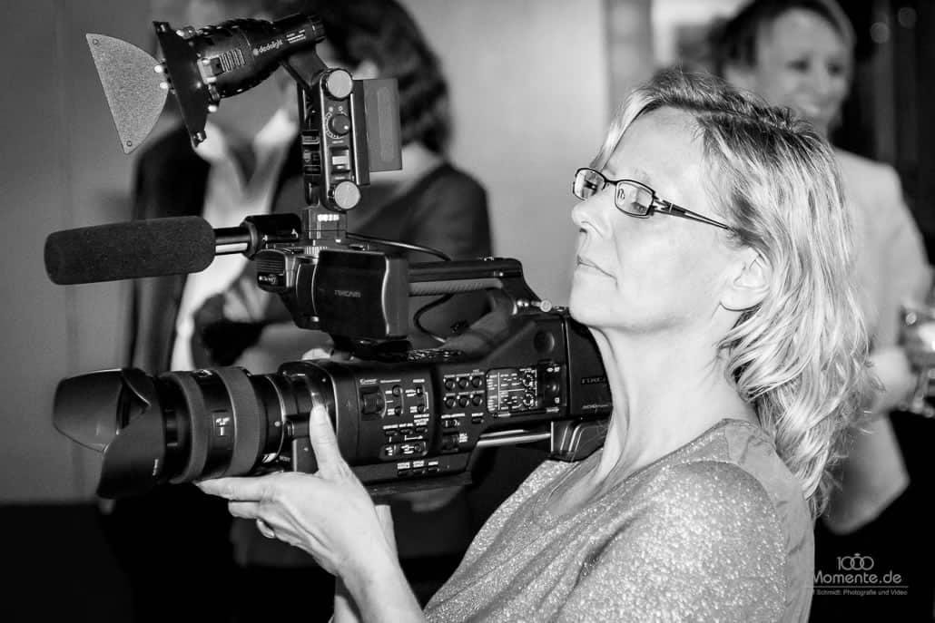 Hochzeitsvideo Düsseldorf dreht auch in schwarz/weiß