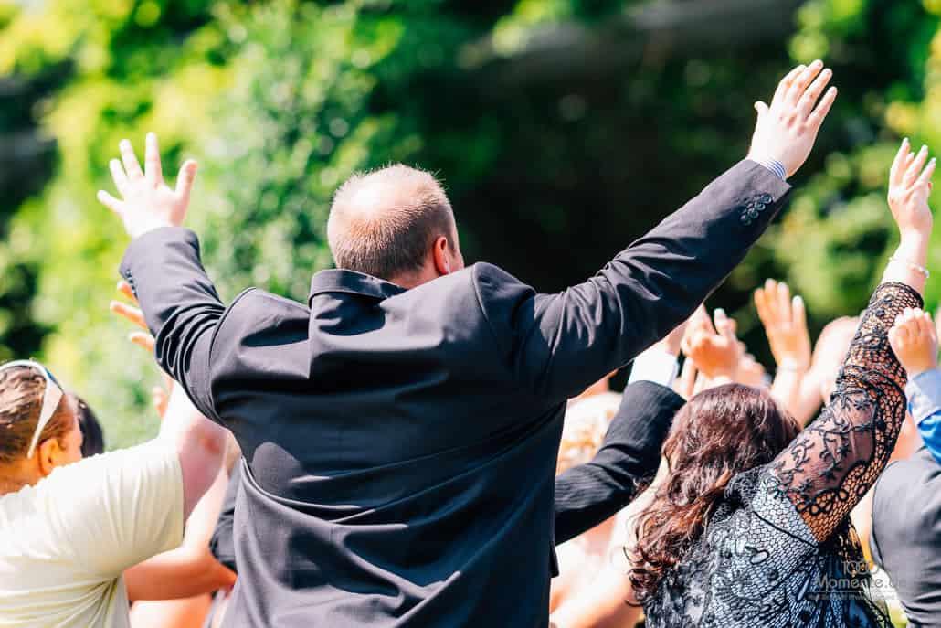 Kloster Kamp Hochzeit Gruppenfoto