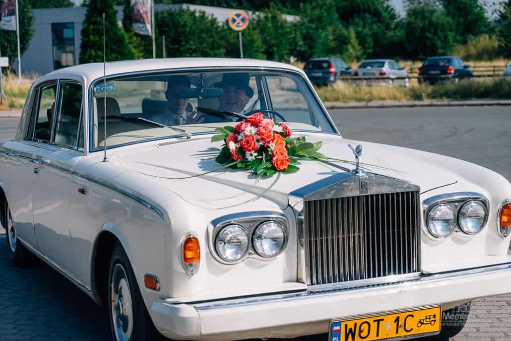 Kloster Kamp Hochzeit rolls royce