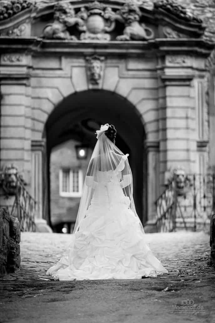 Hochzeitsfotograf Aachen beim Brautsooting
