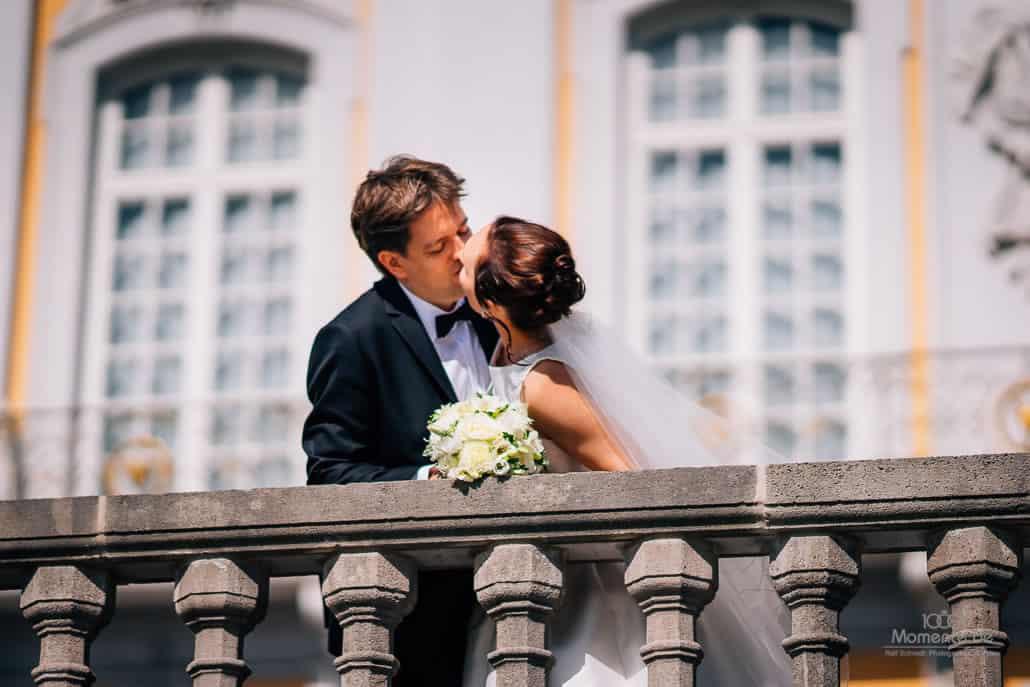 Hochzeitsfotograf Brühl beim Paarshooting