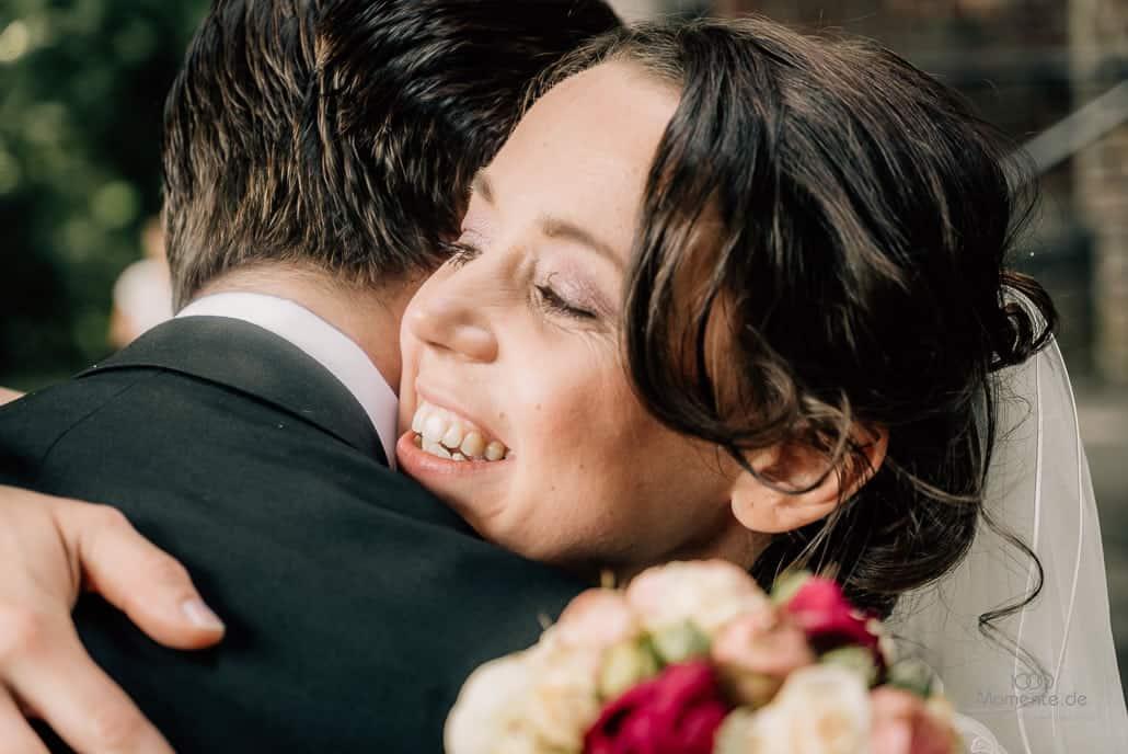 Hochzeitsfotograf Mönchengladbach Freude bei der Hochzeit
