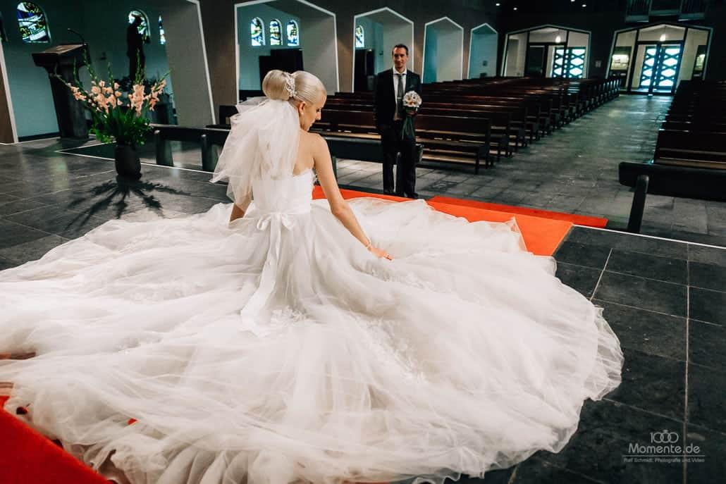 Hochzeit in Düsseldorf mit tollem Brautpaashooting