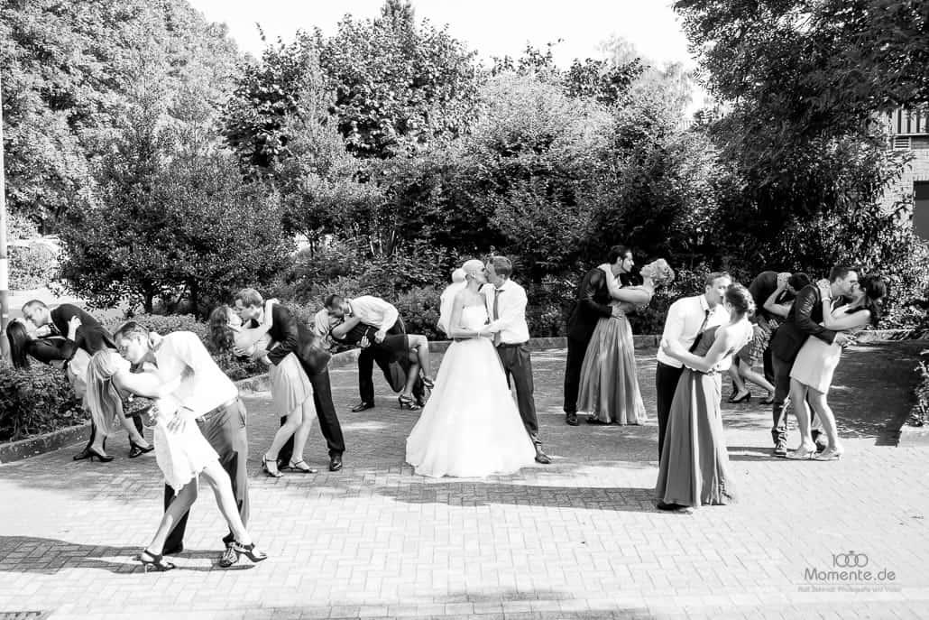 Hochzeit Düsseldorf mit super schönen Gruppenfotos