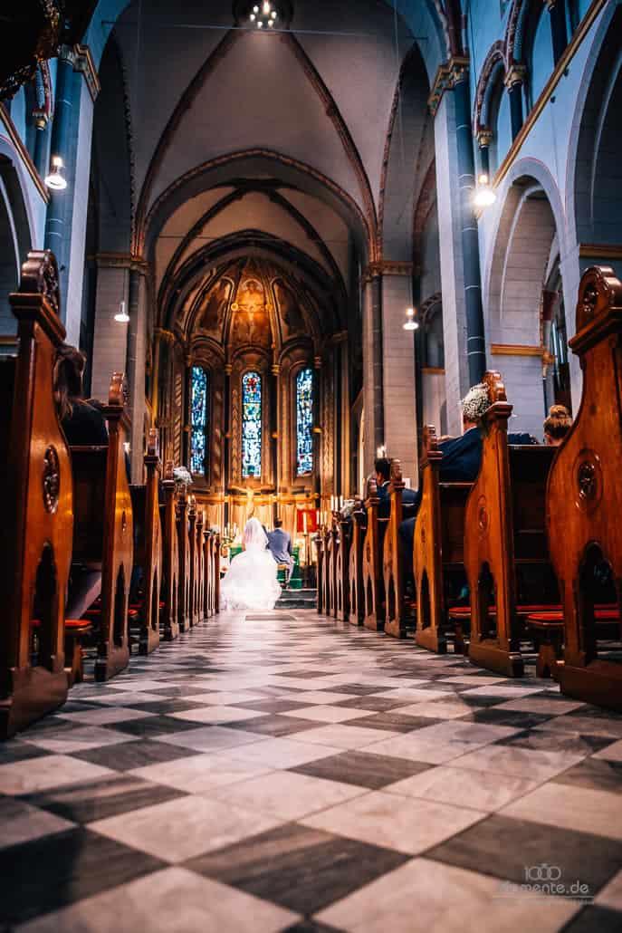 Kirchliche Hochzeit in Düsseldorf