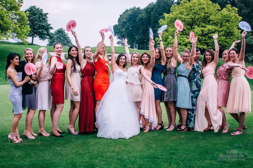Brautjungfern im Kosaido Düsseldorf