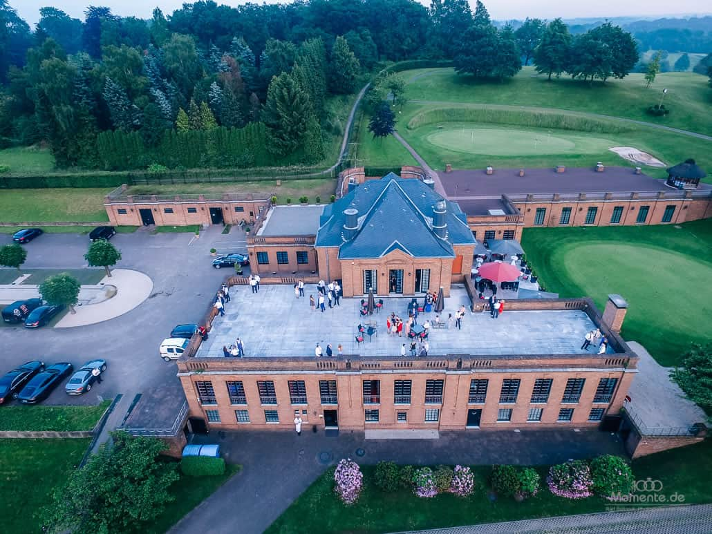 Quadrocopter auf eurer Hochzeit in Düsseldorf
