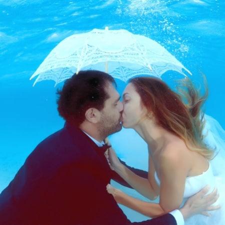 unterwasser After Wedding Shooting