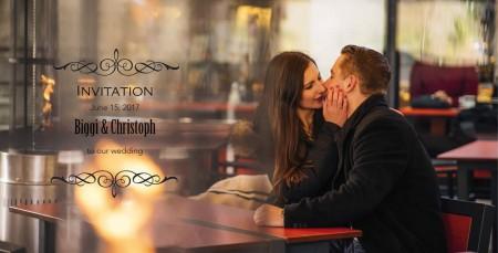 Einladungskarten Hochzeit 2