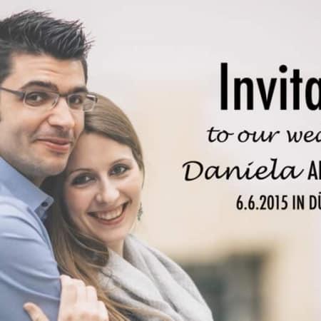 Einladungskarten Hochzeit 4
