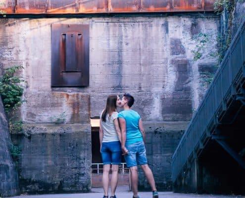 Lesbisches Paar Shooting