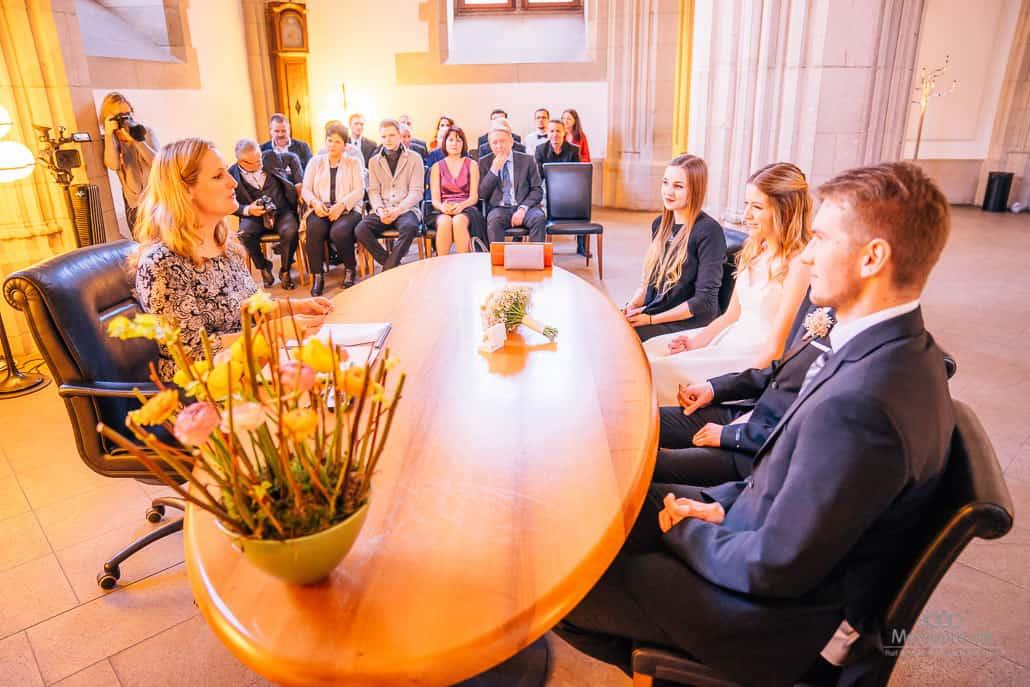 Trauung in der Rentkammer Köln