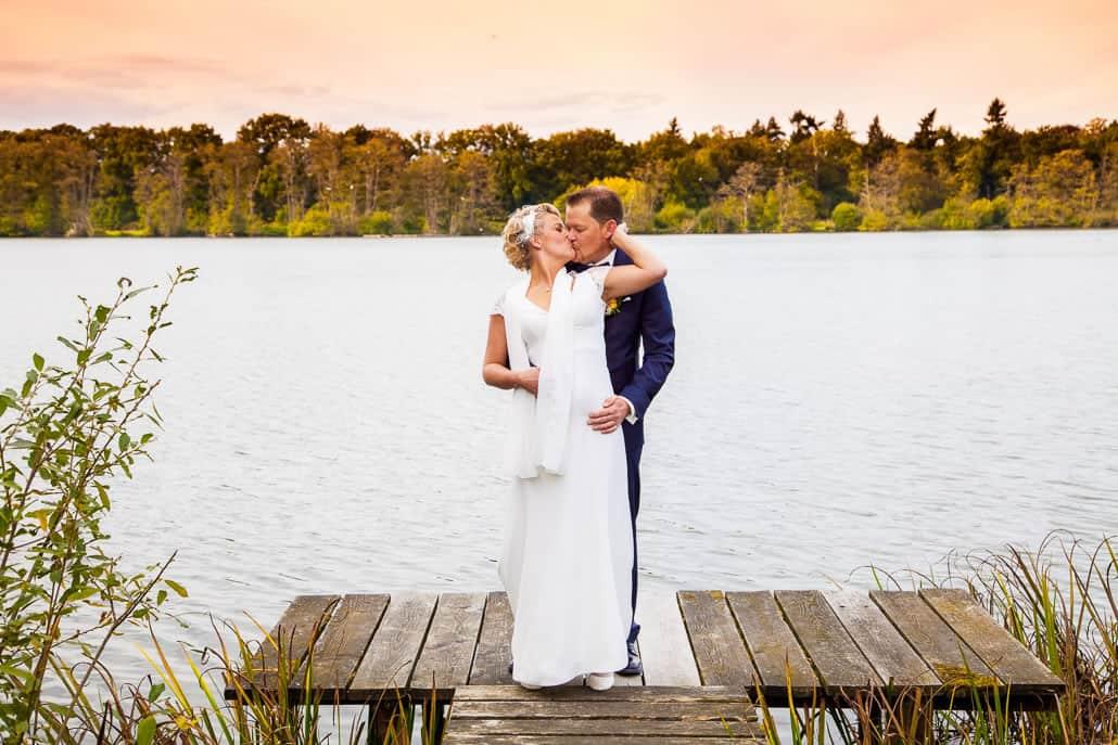 Hochzeit und Trauung am Krickenbecker See