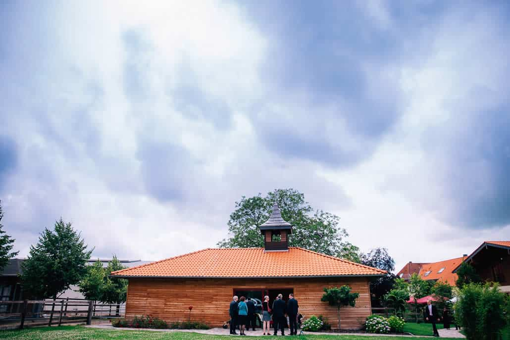 Trauung in der Kapelle vom Landgut am Hochwald in Sonsbeck