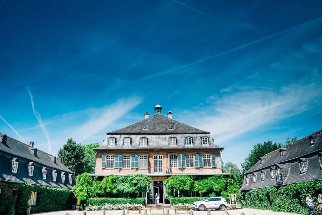 Heiraten auf Schloss Eicherhof Leichlingen