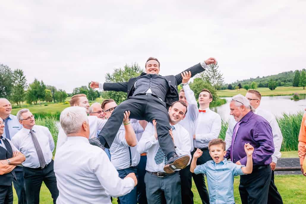 Hochzeitsfotos Golfclub Erftaue Grevenbroich