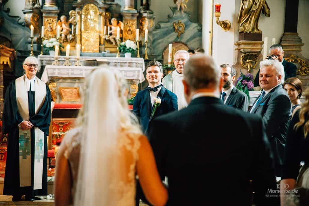 Hochzeit katholisch moslem