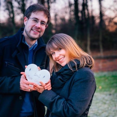 Valentinstag Fotoshooting