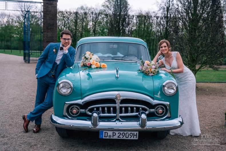 Das passende Gefährt zur Hochzeit