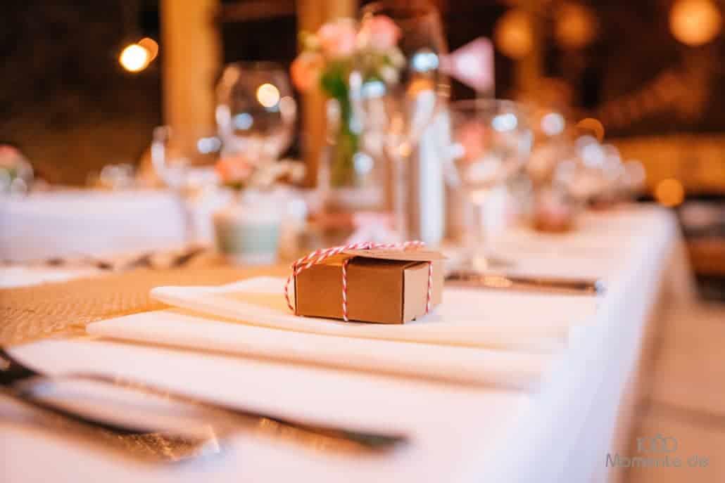 Hochzeitsdekoration Gastgeschenke