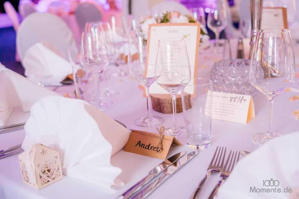 Hochzeitsdekoration Tischdekoration