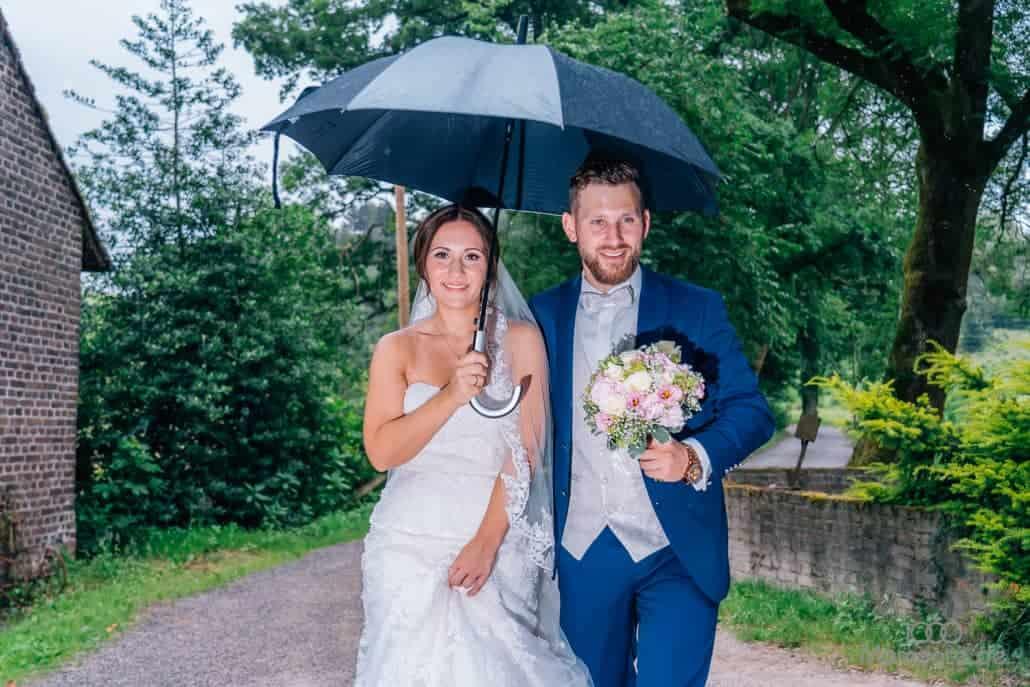 Hochzeitsfotos mit Wettergarantie