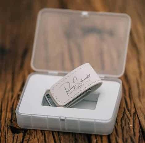 Hochzeitsfotos auf USB-Stick